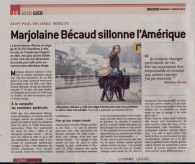 31 Thank you Le Progres, french newspaper, for sharing my story